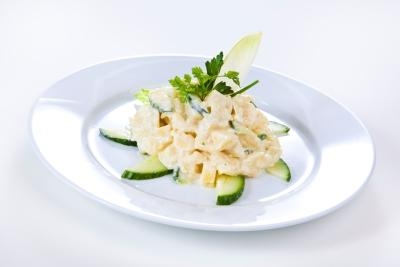 Kartoffelsalat Hamburger Art