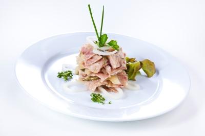 Schwartenmagen- salat