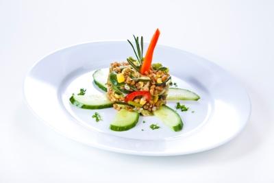 Vollkorn-Weizen-Salat